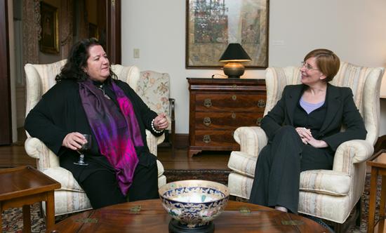 Regina Rabinovich and Suzanne McCarron